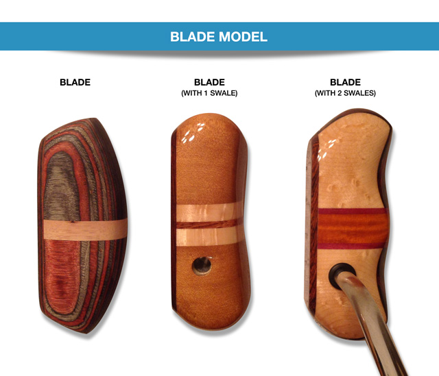 Blade Shaped Putters